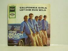 "7"", Single,  The Beach Boys, California Girls, Let Him Run Wild,  RAR"