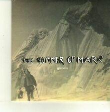 (DE194) The Summer Of Mars, Glaciers - 2005 DJ CD