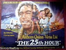 Cinema Poster: 25TH HOUR, THE 1967 (Quad) Anthony Quinn Michael Redgrave