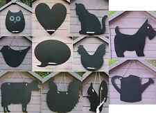 Blackboard Chalkboard Kitchen Owl Bird Hen Cat Heart Squirrel Chalk Board Black