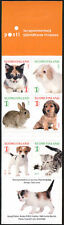 Finland 2012 Pets, Cat, Dog, Bunny Booklet MNH