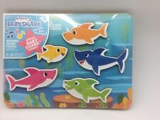 Baby Shark by Pinkfong Wooden Puzzle Plays Baby Shark New