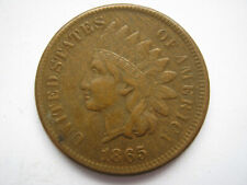 United States 1865 bronze Indian Head 1 Cent NVF
