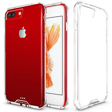 For iPhone 7 PLUS Crystal Clear Hybrid Ultra-thin Bumper Hard Back Case Cover