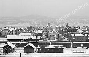 "1941 Winter in West Aliquippa, Pennsylvania Old Photo 11"" x 17"" Reprint"