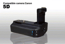 Battery Grip for Canon EOS 5D Jenis,AA or UP TO 2 OEM Camera Batt. Make offer ??