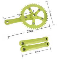 44T 170mm chainwheel Cycling Alloy Single Speed cycle Bike Crankset Fit Crank