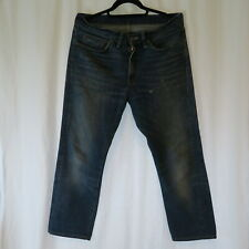 LEVIS LVC USED AND REPAIR 1954 501z XX 32 x 27 BIG E Selvedge 34 WASHED STRAIGHT