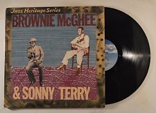 brownie mcghee & sonny terry lp jazz heritage series  mca-1369  vg+/vg++