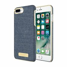 Sugar Paper LA~ Designer iPhone 7 PLUS cell phone case~Denim Chambray BLUE