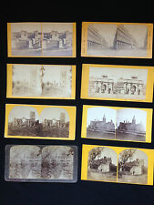 Eight Stereoview Cards.