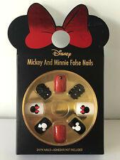 Disney Minnie Mickey Mouse Nagel-Tips Künstliche Fingernägel Kunstnägel Primark