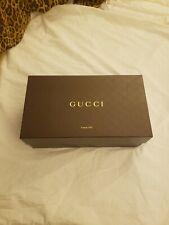 Gucci empty shoe box