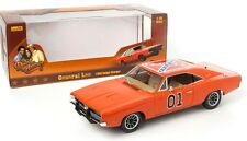 DUKES OF HAZZARD 1969 DODGE CHARGER - 'GENERAL LEE' - 1:18 Scale AUTOWORLD