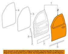 GM OEM-Door Skin Outer Panel Left 23104632