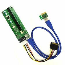 Fixable PCI-E 16X to 1X Adapter USB3.0 USB 3.0 Riser Cable Flex Flexible Cable 4