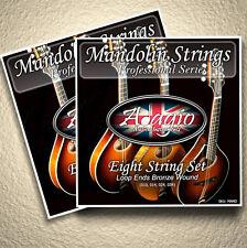 2 FULL PACKS Adagio Pro Mandolin Strings With Loop Ends