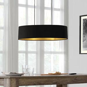 [lux.pro] Design Hängeleuchte Pendelleuchte 2-flammig Hängelampe Leuchte Stoff