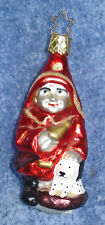 1997 Merck Family'S Old World Christmas Ornament #2519 The Littlest Fireman