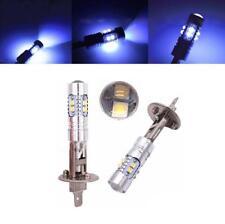 Pair Car H1 8000K 500LM HID 50W CREE 10SMD 10LED Bulbs Fog Lights /High Beam DRL