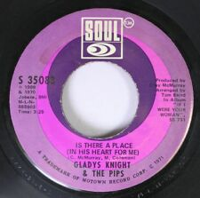 Soul 45 Gladys Knight & The Pips Is There A Place / I Don'T Want To Do Wrong On