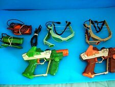 LAZER TAG Team Ops - Deluxe 2 Player System & Headsets- Hasbro Tiger electronics