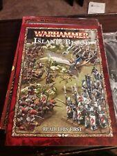 Juegos taller Warhammer Suplemento de juegos de la isla de sangre