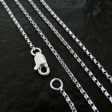 40 Inch .925 Sterling Silver 1.2mm Rolo Chain Necklace Assembled by Hand