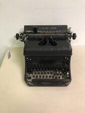 Remington Rand Art Deco super clean portable typewriter *Needs Ribbon*