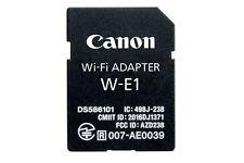 Canon W-E1 Wi-Fi Mobile Adapter for EOS 7D Mark II 5DS R DSLR Cameras