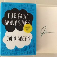 A Fault In Our Stars - John Green - Signed 1st Ed. 1st Printing 2012  X Cond