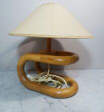 Ältere kleine Danish Design Leuchte Lys Tischlampe  pinewood  Tisch Lampe~70er