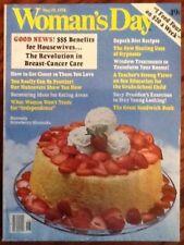 Woman's Day back issue magazine May 19 1978 recipes crochet fashion decor sex ed