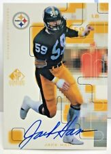 Jack Ham 1999 Upper Deck SP Signature Edition Autograph Auto #JH - STEELERS