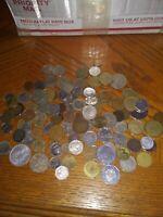 Bulk coins 1 lb world coins good quality  + FREE silver coin