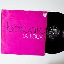 Barbara-la louve, ger`73, LP, vinyle: VG +