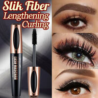 4D Silk Fibre Mascara Eyelash Waterproof Extension Volume Make Up Long Lasting