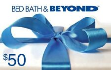 Bed Bath &  Beyond Gift Card - $50 Mail Delivery