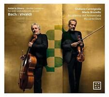 Giuliano Carmignola Mario Brunello - Bach & Vivaldi: Sonar In Ottava. D (NEW CD)