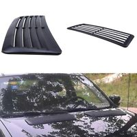 1 Pcs ABS Car Decorative Air Flow Intake Scoop Turbo Bonnet Vent Cover Hood