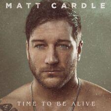 Matt Cardle-tiempo para estar vivo-nuevo Doble Vinilo Lp-Pedido Previo 27th April