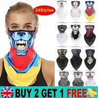 Full Function Face Mask Warmer Neck Tube Scarf Biker Snood Balaclava Bandana