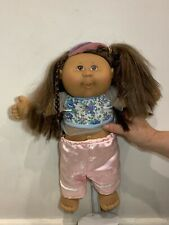 Cute happy original Cabbage Patch Kid Doll 2004 Play Along