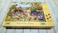 "HOP Saltburn Collection ""Sign of the Times"" 1000pc Jigsaw Puzzle FREE UK POSTAGE"