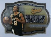 2002-03 TONY PARKER Fleer Insert Card - 717/750