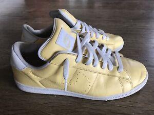 Used Vintage Nike BRS Wimbeldon Tennis Classic Lemon Uk7 Us8 No Box 2004
