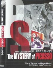 The Mystery of Picasso DVD (1956) Henri-Georges Clouzot / Pablo Picasso
