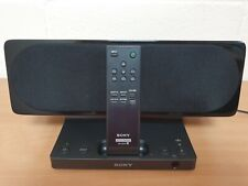 Sony SRS-GU10ip iPod iPhone Speaker System Docking Station With Remote