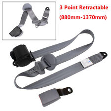 3 Point Retractable Car Safety Seat Belts Lap Safety Belt Seatbelts with Buckle