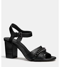 Coach Leather Medium (B, M) Width Heels Women's US Size 8.5